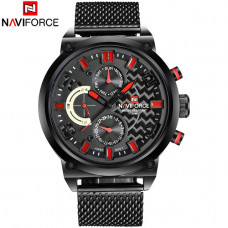 NAVIFORCE muški sat NF 9068 BRB /red G