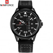 NAVIFORCE muski sat NF 9074 BWB /black white