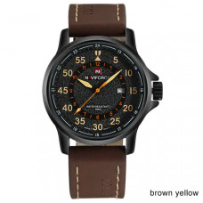 NAVIFORCE muški sat NF 9076 BYDBN /brown yellow
