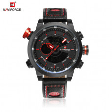 NAVIFORCE muški ručni sat NF 9081 BRB/ red