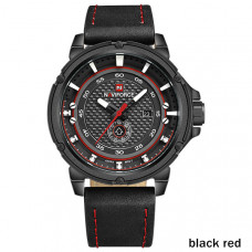 NAVIFORCE muški sat vodootporan do 30m NF 9083 BRB /black red